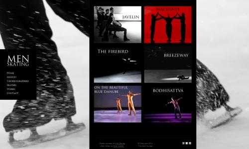 Men Skating Website